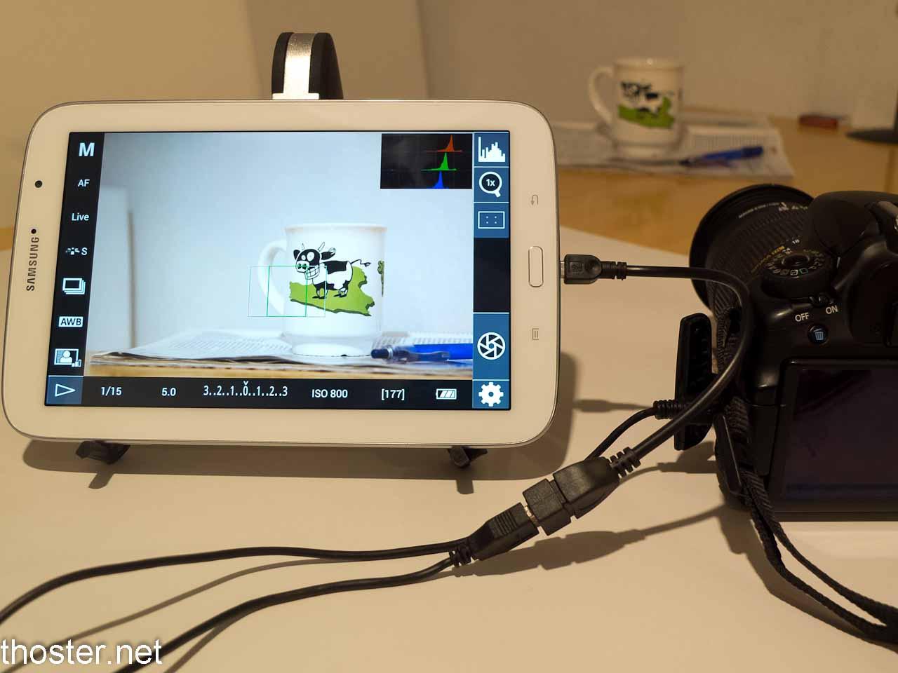 Samsung Galaxy Note 8.0 und der S-Pen im Einsatz