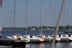 Jollen-Hafen an der Alster
