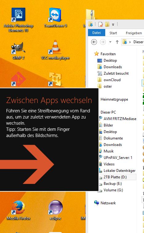 Windows 8 ist ganz großer Mist.